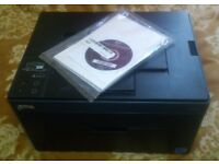 DELL 1250C COLOR LASER PRINTER WITH MANUAL FOR SALE