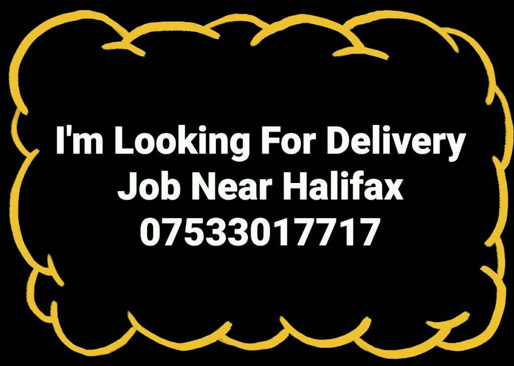Looking Delivery Job