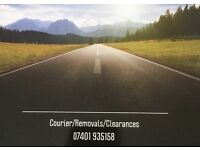 Man with a Van Courier, clearance and removals