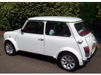 Classic Mini Austin Mini Red and White Full Leather Interior - VERY RARE AND BEAUTIFUL CAR