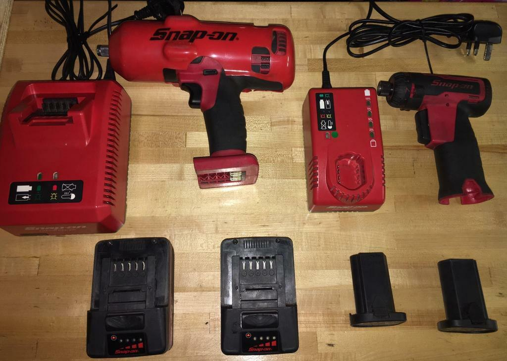Snap on 1/2 inch impact gun and impact driver | in Peterborough,  Cambridgeshire | Gumtree