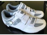 Ladies Shimano cycling shoes