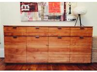 High quality contemporary oak sideboard