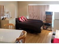 FURNISHED STUDIO FLAT IN PARK ROYAL AVAILABLE FROM THE BEGINNING OF FEBRUARY FOR £800 PER MONTH!