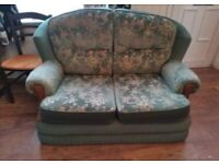 Free 2 seater couch sofa vintage shabby chic retro
