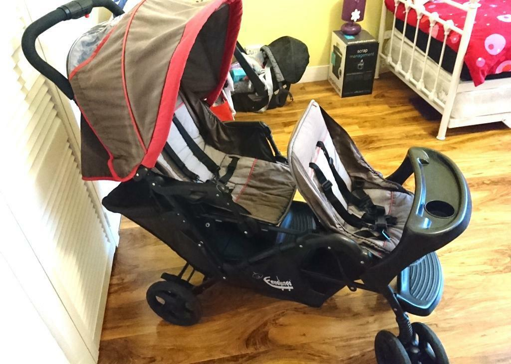 BARGAIN: Mothercar tandem buggy