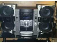 Sony Hi Fi in perfect condition 3 disc changer