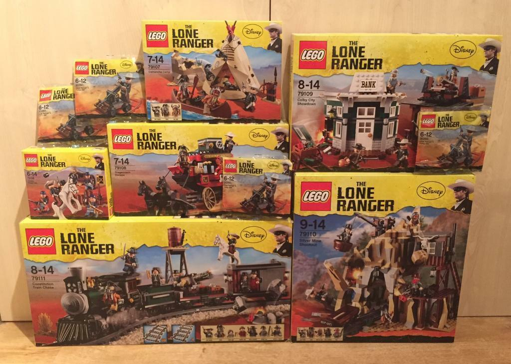 Various brand new sealed discontinued Lego Lone Ranger sets, incl the rare  Constitution Train Chase | in Surbiton, London | Gumtree
