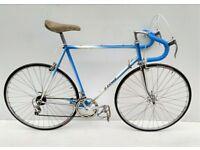 vintage Didier Lebaud french steel 531 racing bicycle