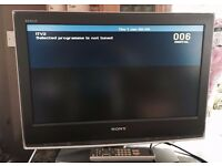 "FANTASTIC SONY BRAVIA 26"" LCD TV, USB, HDMI, built in FREEVIEW, remote, etc ! EXCELLENT CONDITION !"