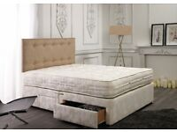 Same Next Day Delivery Single Double King Size Mattress Deep, Orthopaedic, Pocket Sprung