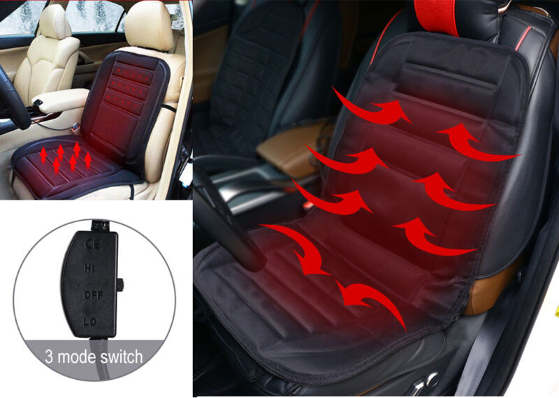 12V Car Seat Winter Warmer Cover SUV Heating Heater Pads Cushion
