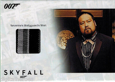 James Bond Autograph & Relic Skyfall SSC21 Costume Card Tank Dong as Bodyguard - Skyfall Costumes