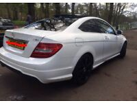 CAT C Mercedes C220 Red Leavers Pan roof