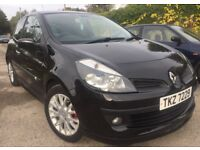 2007 RENAULT CLIO 1.2 DYNAMIQUE TCE 3 DOOR+FULL HISTORY+ONLY 62,000 MILES+HPI CLEAR