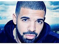 DRAKE GOLD CIRCLE TICKETS ON 15 FEB 2017 FOR £200 EACH