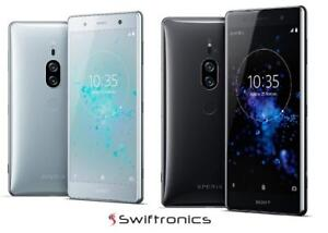 Brand New Sony Xperia  XZ1 XZ2 Compact and XZ Premium Factory Unlocked 64GB Fingerprint Reader
