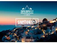 Supa Dupa Fly X Santorini Ticket including Coach and Festival Entry
