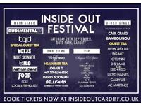 Inside out festival Cardiff tickets