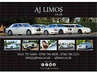 Vintage wedding cars hire Manchester/ Limousine hire Manchester/ Beauford Classic hire Manchester