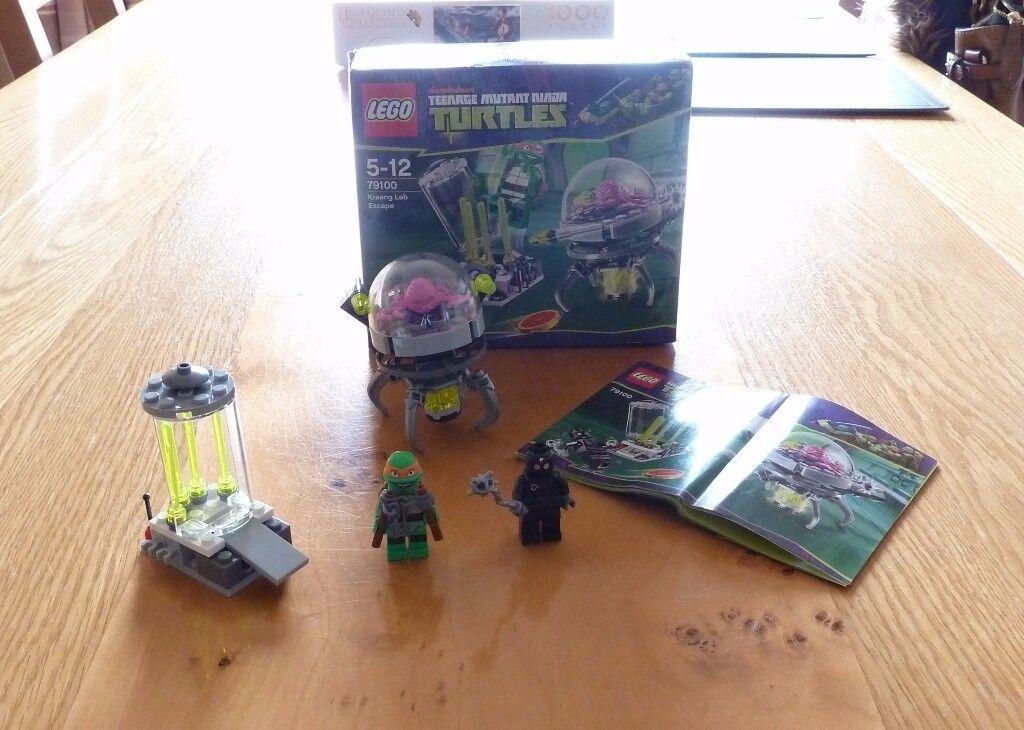 Lego Teenage Mutant Ninja Turtles (79100) Kraang Lab Escape