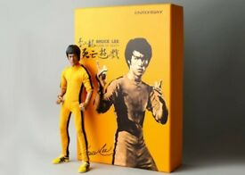 Bruce Lee Game of Death Enterbay Figure Rare