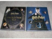 Harry Potter - Film Wizardry & The Character Vault - 2 Hardback Books