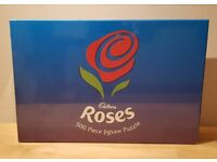 Cadburys Roses 500 piece jigsaw puzzle (new in sealed box)