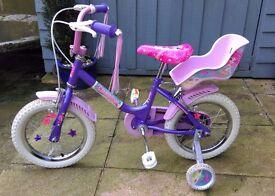 "Girls Bike - Sunbeam Mermaid 14"" Kid's Bike by Raleigh"