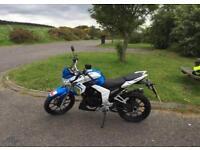Lexmoto Venom 125CC 2015 MOT V5 5K MILES Motorbike Motorcycle Bike Commuter Road Legal BARGAIN £695!