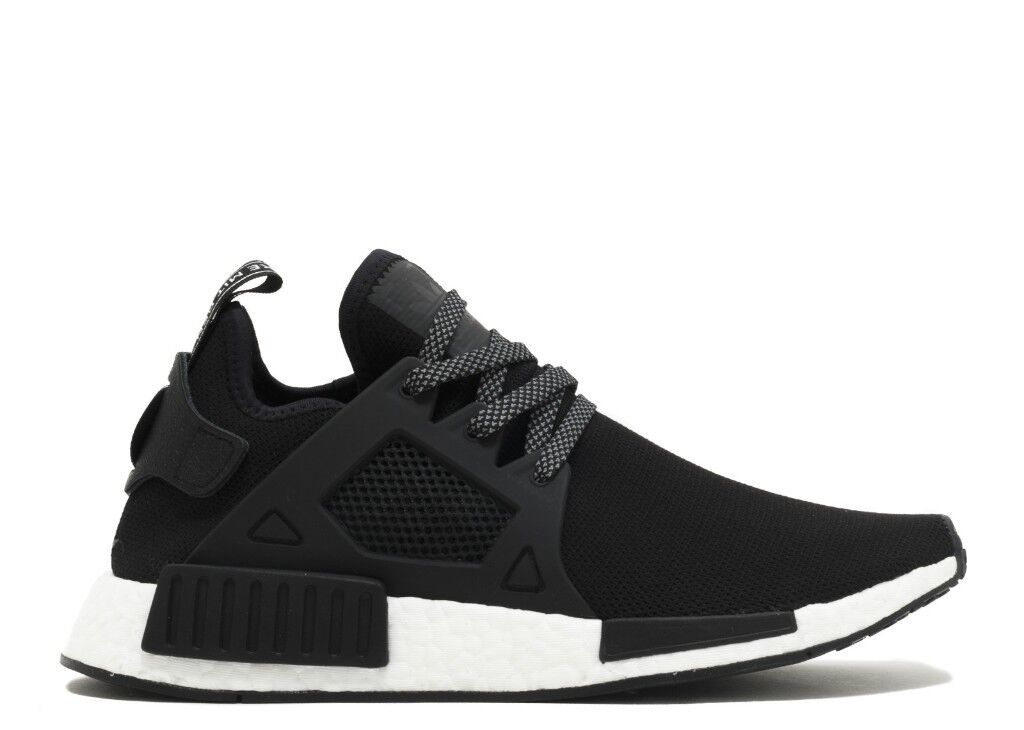 LIKE NEW - Adidas Originals NMD XR1 Running Trainers Black/White - UK SIZE  10.5