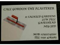Call Gordon the plasterer