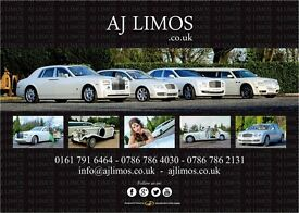 Rolls Royce Phantom hire Bradford / wedding cars hire Bradford / Vintage wedding cars hire Bradford