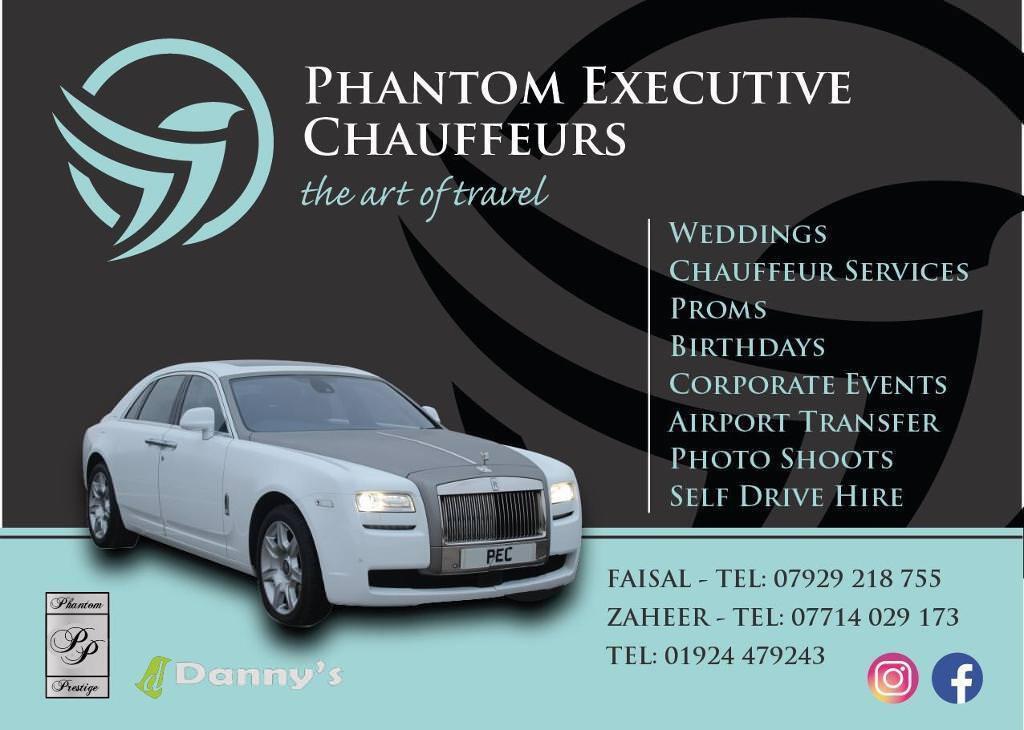Rolls Royce Wedding Hire Leeds Bradford Manchester Dewsbury Halifax Rochdale Oldham Sheffield