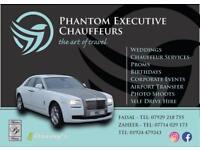 Rolls Royce Wedding Hire - Manchester-Bradford-Leeds-Dewsbury-Halifax-Rochdale-Oldham-Sheffield
