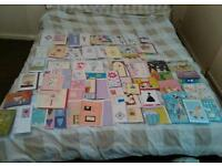 Job lot of hand crafted cards