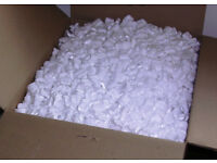 Two LARGE boxes of foam chips for packaging (suitable for large-scale ebay sales etc)