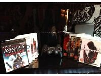 Playstation 3 PS3 w/ Controller + 10 Games. Excellent Condition