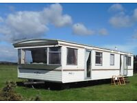 Static caravan available November To End March.