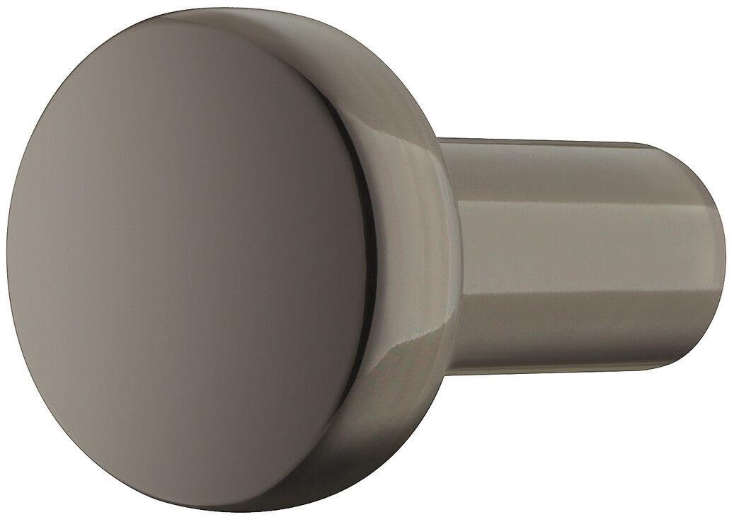 Dettagli su Pomello Mobili Nero per Armadi Cucina H1340 Maniglia Lucidato  Comodino