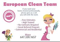 Need cleaners!