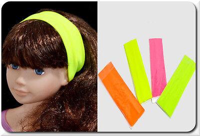 rnband 5 cm Breit 4 Farben Neon Gelb Grün Pink Orange (Neon Haare)