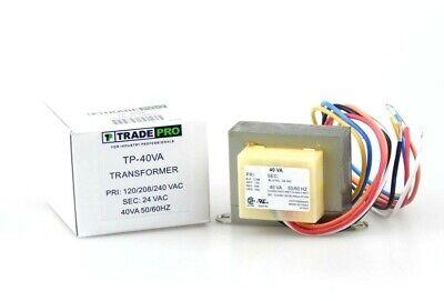 Universal Transformer Multi Voltage Pri 120 208 240 V Sec 24v Output 40va