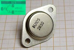 Transistor BU105 [0T-13] - Wroclaw, Polska - Transistor BU105 [0T-13] - Wroclaw, Polska