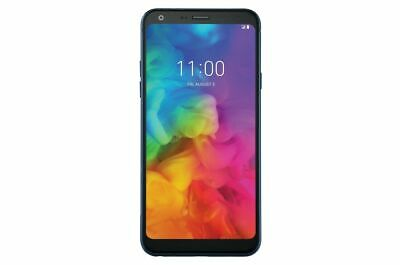 LG Q7 Plus Q610TA 5.5in 64GB T-Mobile Android Smartphone - Morrocan Blue Renewed