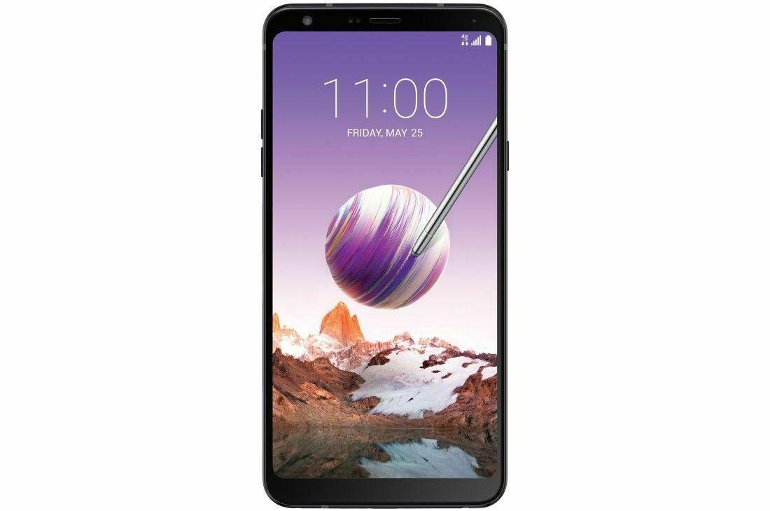 Android Phone - LG Stylo 4 32GB Aurora Black Smartphone Unlocked Q710AL B GRADE 8/10