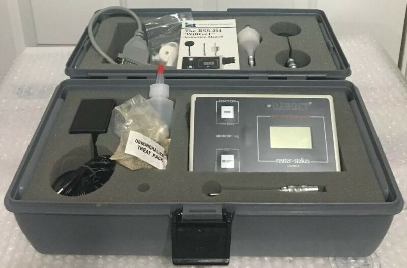 WiBGeT RSS-214 Reuter-Stokes Heat Stress Monitor Used But Excellent Condition
