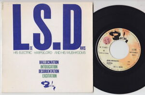 Lee S. DAVIS * 1966 PSYCH LSD LIBRARY FUNK French EP * Listen To It!