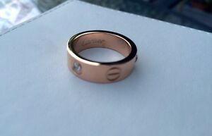 Cartier gold pink ring Bankstown Bankstown Area Preview