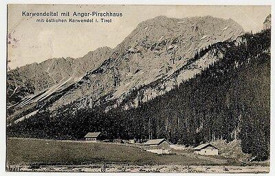 Anger Pürschhaus, Karwendel, Ahornboden ?, Vomp, Eben am Achensee, 1920